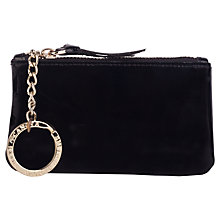Buy Smith & Canova Leather Coin Purse, Black Online at johnlewis.com