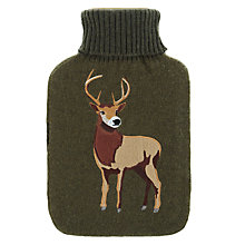 Buy Aroma Home Knitted Stag Hottie Online at johnlewis.com