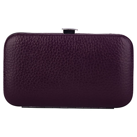 Buy Smith & Canova Leather Manicure Set, Imperial Online at johnlewis.com