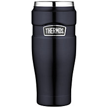 Buy Thermos Leakproof Travel Beaker, 0.47L, Black Online at johnlewis.com