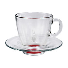 Buy Bialetti Espresso Cup and Saucer Online at johnlewis.com