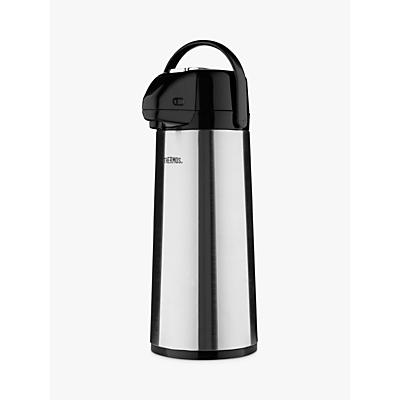 Thermos Pump Pot, 2.5L, Grey