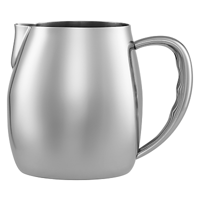 John Lewis Stainless Steel Milk Jug