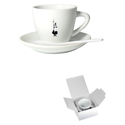 Bialetti Cappuccino Cup and Saucer