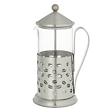 Buy John Lewis Barista Bean Cafetiere, 8 Cup Online at johnlewis.com