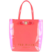 Buy Ted Baker Starcon Jewelled Bow Shopper Handbag Online at johnlewis.com