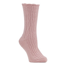 Buy John Lewis Cashmere Bed Socks Online at johnlewis.com