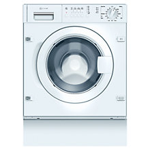 Buy Neff W5420X1GB Integrated Washing Machine, 7kg Load, A+ Energy Rating, 1200rpm Spin Online at johnlewis.com
