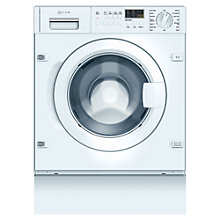 Buy Neff W5440X1GB Integrated Washing Machine, 7kg Load, A+ Energy Rating, 1400rpm Spin Online at johnlewis.com