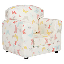 Buy little home at John Lewis Butterflies Armchair Online at johnlewis.com