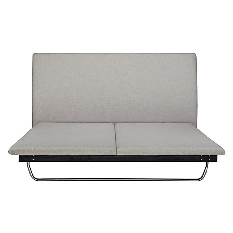 Buy John Lewis Hatten Bedstead, Grey, Kingsize Online at johnlewis.com