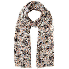 Buy John Lewis Speckled Print Scarf, Natural Online at johnlewis.com