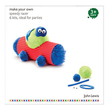 Buy John Lewis Make Your Own Speedy Racer Party Pack, Set of 6 Online at johnlewis.com