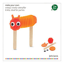 Buy John Lewis Crawly Caterpillar Party Pack of 6, Assorted Online at johnlewis.com