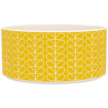 Buy Orla Kiely Linear Stem Small Salad Bowl Online at johnlewis.com
