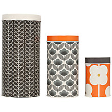 Buy Orla Kiely Food Storage Canisters, Set of 3 Online at johnlewis.com