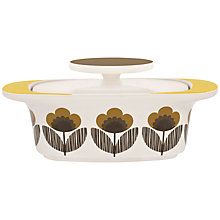 Buy Orla Kiely Poppy Meadow Butter Dish Online at johnlewis.com