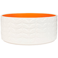 Buy Orla Kiely Raised Stem Salad Bowl, Medium Online at johnlewis.com