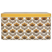Buy Orla Kiely Stem Print Biscuit Tin, Large Online at johnlewis.com