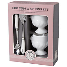Buy Mary Berry Chicken Egg Cup & Spoon Set, 4 Pieces Online at johnlewis.com