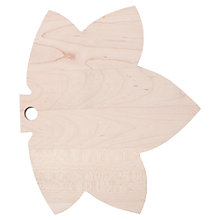 Buy Bliss In The Woods Maple Leaf Chopping Board Online at johnlewis.com