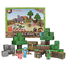 Buy Minecraft Overworld Deluxe Paper Craft Pack Online at johnlewis.com