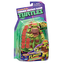Buy Teenage Mutant Ninja Turtles Michelangelo Flingerz Online at johnlewis.com
