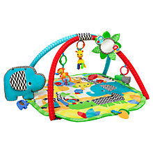 Buy Bright Starts Sensory Safari Baby Activity Gym Online at johnlewis.com