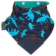 Buy Cheeky Chompers Neckerchew Baby Bib, Dino Online at johnlewis.com