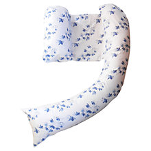 Buy Dreamgenii Nursing Pillow Cover, Blue Flowers Online at johnlewis.com