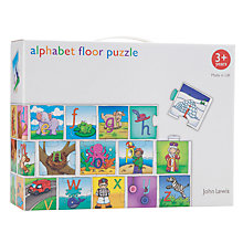 Buy John Lewis Alphabet Floor Puzzle Online at johnlewis.com