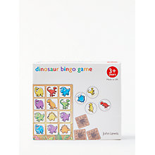 Buy John Lewis Dinosaur Bingo Game Online at johnlewis.com