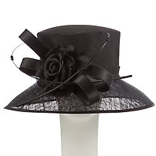 Buy John Lewis Lena Medium Down Brim Silk Flower Occasion Hat Online at johnlewis.com