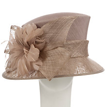 Buy John Lewis Lottie Small Down Brim Occasion Hat, Taupe Online at johnlewis.com