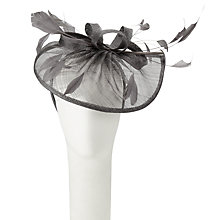Buy Snoxells Myhat Teardrop Occasion Hat, Peweter Online at johnlewis.com
