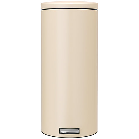 Buy Brabantia MotionControl Pedal Bin, Almond, 30L Online at johnlewis.com