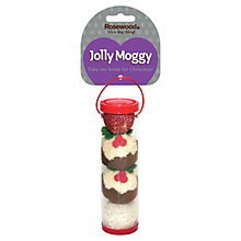 Buy Rosewood Jolly Moggy Festive Cat Ball Tube Online at johnlewis.com