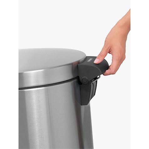 Buy Brabantia MotionControl Twin Pedal Bin, 20L/20L Online at johnlewis.com