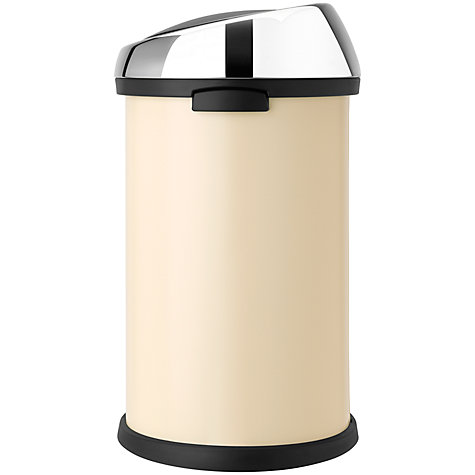 Buy Brabantia Touch Bin, Almond, 50L Online at johnlewis.com