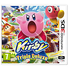 Buy Kirby: Triple Deluxe, 3DS Online at johnlewis.com