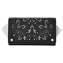 Buy Dune Khloes Laser Detail Winged Purse Online at johnlewis.com