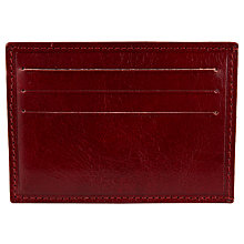Buy JOHN LEWIS & Co. Made in Italy Business Leather Card Holder/Money Clip Online at johnlewis.com