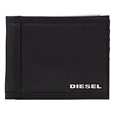 Buy Diesel Output Nylon Wallet, Black Online at johnlewis.com