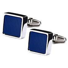 Buy Denison Boston Mindy Stripe Cufflinks Online at johnlewis.com