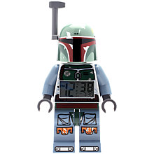 Buy LEGO Star Wars Boba Fett Alarm Clock Online at johnlewis.com