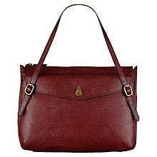 Buy Tula Large Lizard Leather Tote Bag Online at johnlewis.com