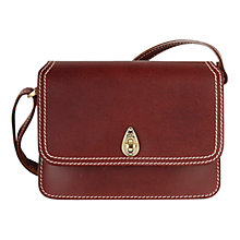 Buy Tula Small Saddle Leather Across Body Bag Online at johnlewis.com