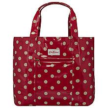 Buy Cath Kidston Large Open Carryall Button Spot Bag Online at johnlewis.com