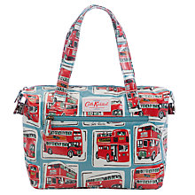 Buy Cath Kidston Small Zipped London Buses Mini Zip Bag, Blue Online at johnlewis.com