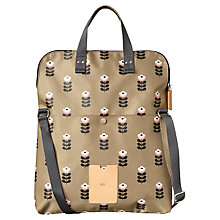 Buy Orla Kiely Matt Laminated Butter Cup Stem Across Bag, Sand Online at johnlewis.com